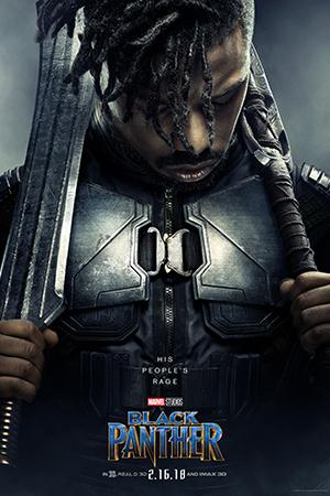 Black Panther Poster Killmonger